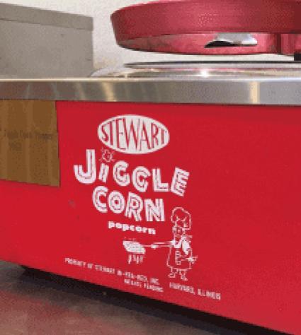 Stewart Jiggle Corn Popcorn machine