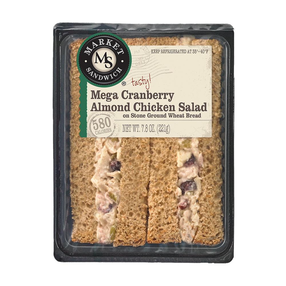 Market Sandwich Mega Cranberry Almond Chicken Salad