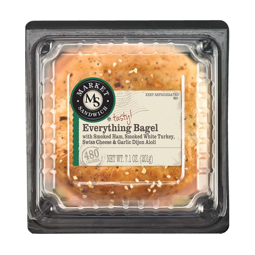 Market Sandwich Everything Bagel