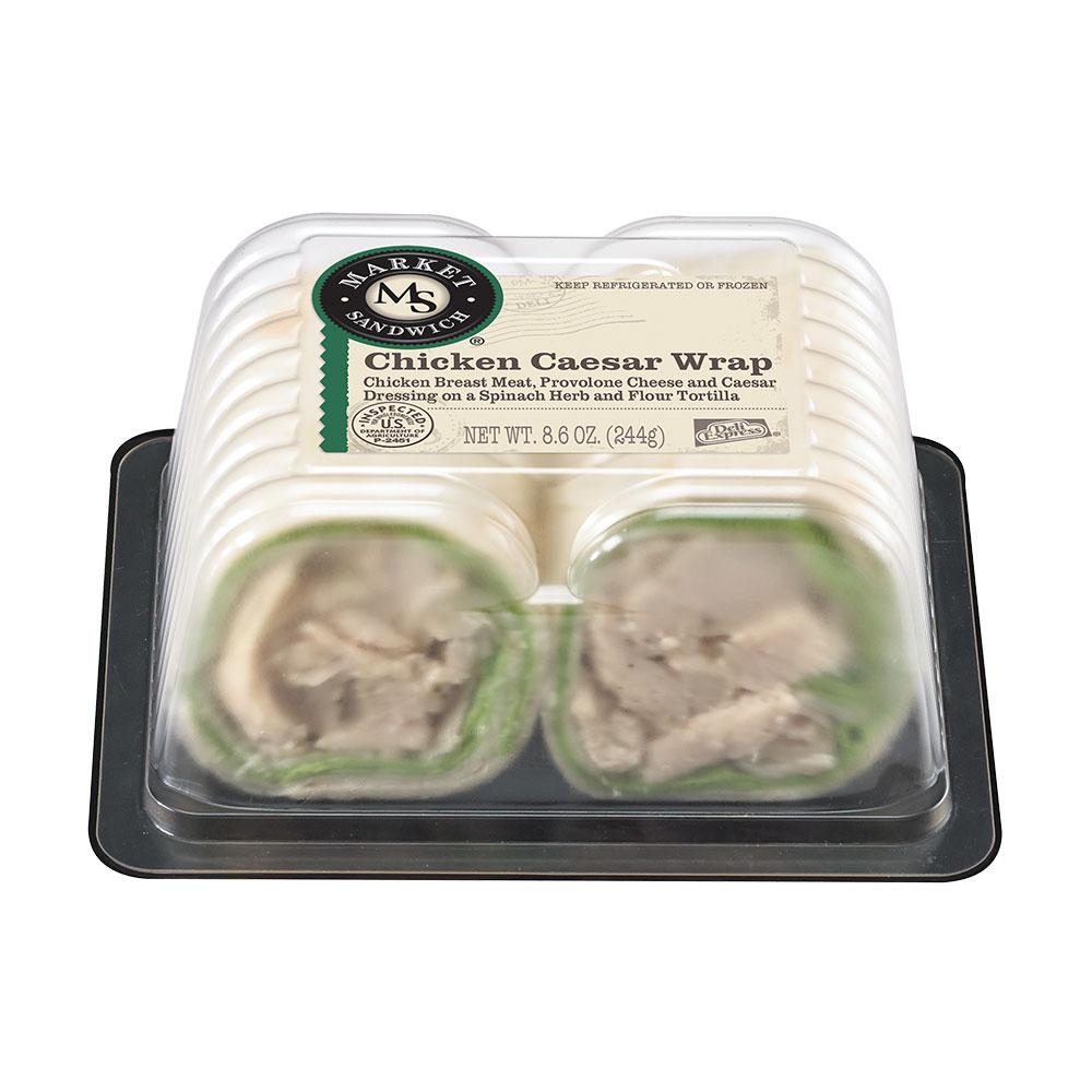 Market Sandwich Chicken Caesar Wrap