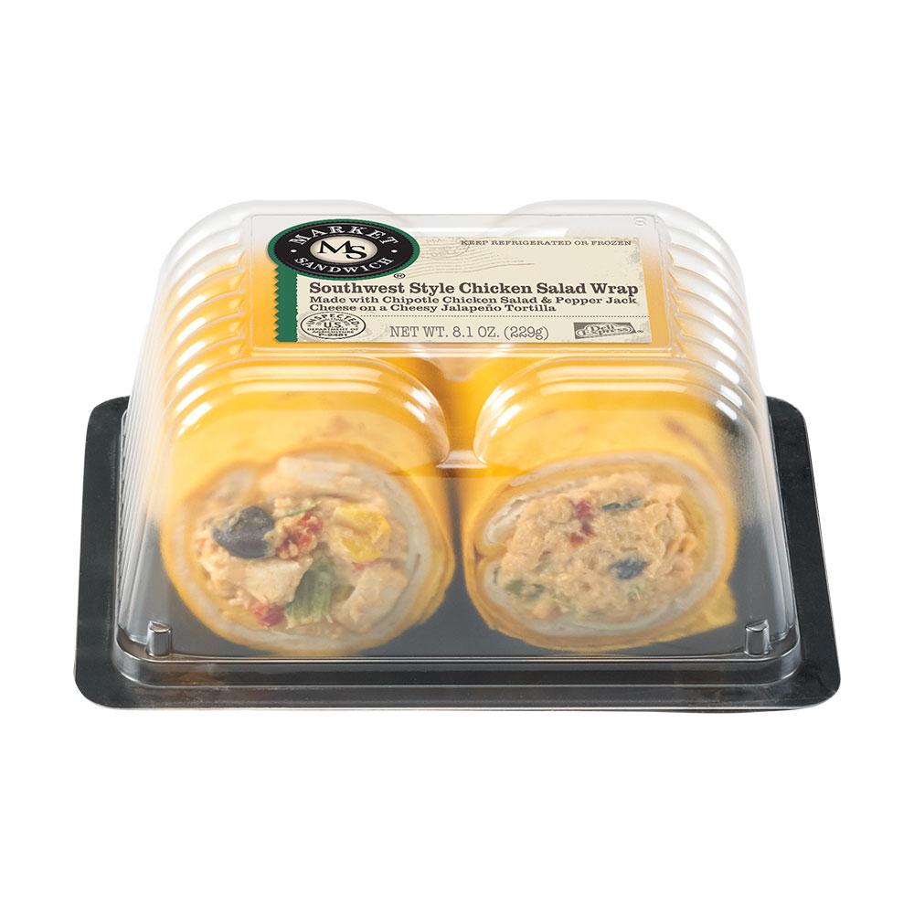 Market Sandwich Southwest Style Chicken Salad Wrap