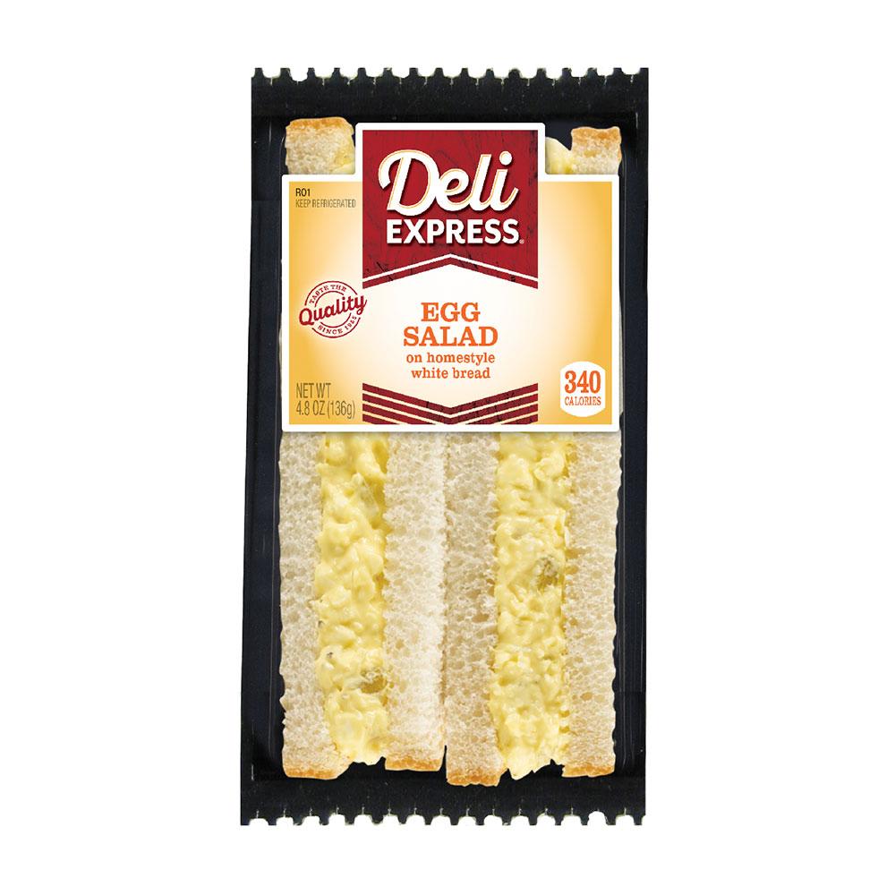 Deli Express egg salad sandwich