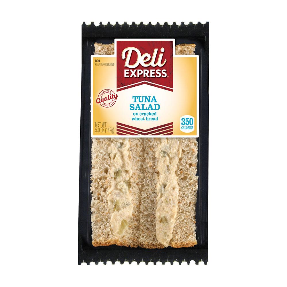 Deli Express tuna salad sandwich