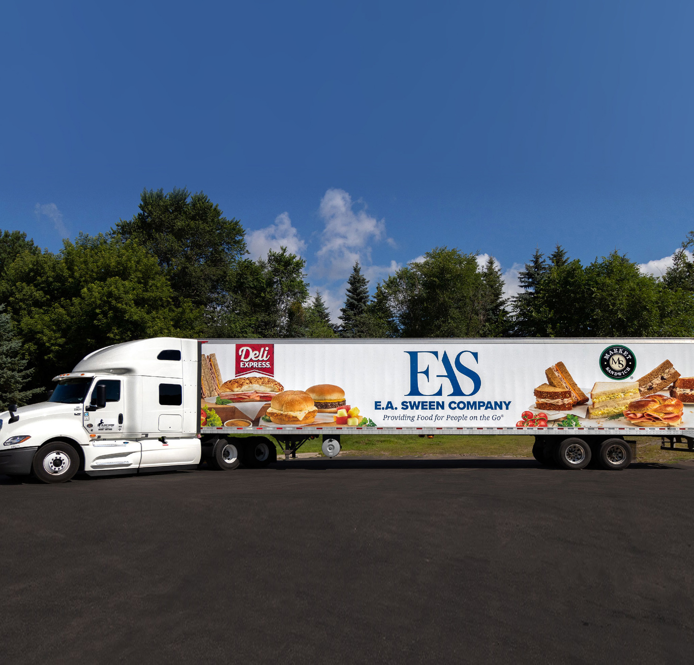 EA Sween Delivery truck