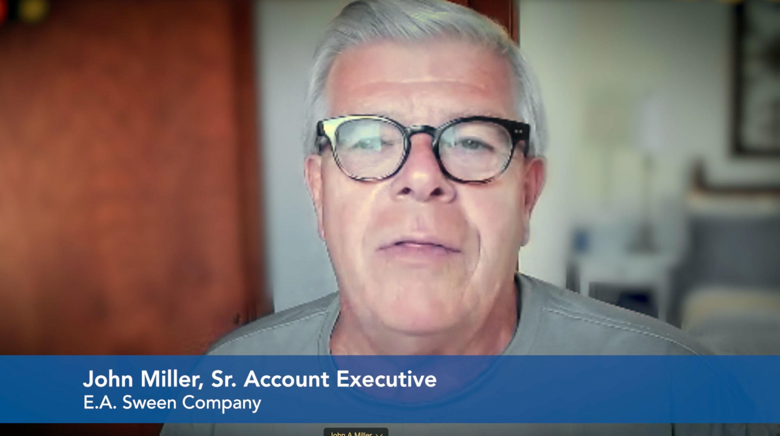 John Miller Sr. Account Executive Employee Interview